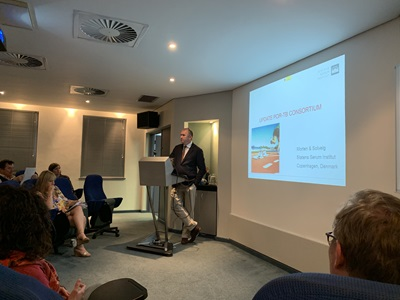 Prof. Rodney Dawson welcomes the POR TB Consortium