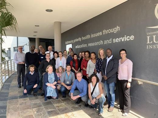Group photo POR TB Consortium 2019